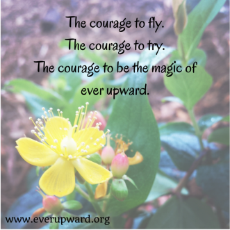 The courage to try