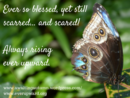 Ever so blessed, yet still scarred… and