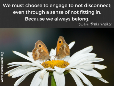 We must choose toengage to not